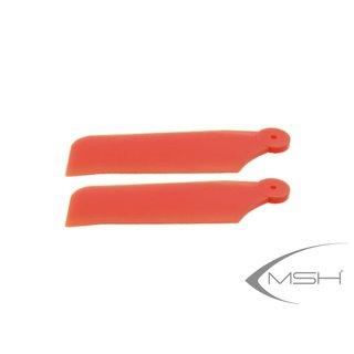 MSH41204 Tail blade Protos 380 Red